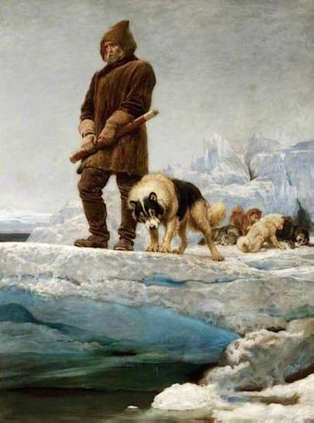 The Last of the Crew (1883) Briton Riviere