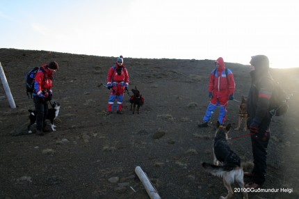 Harsh terrain SAR training